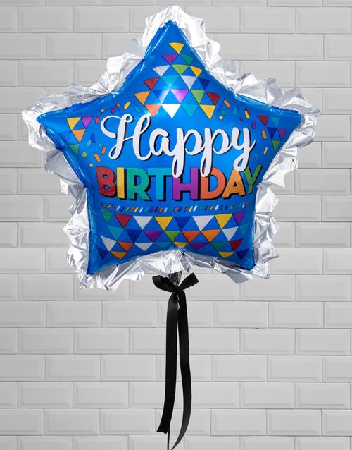 balloon: Birthday Super Star Balloon Gift!