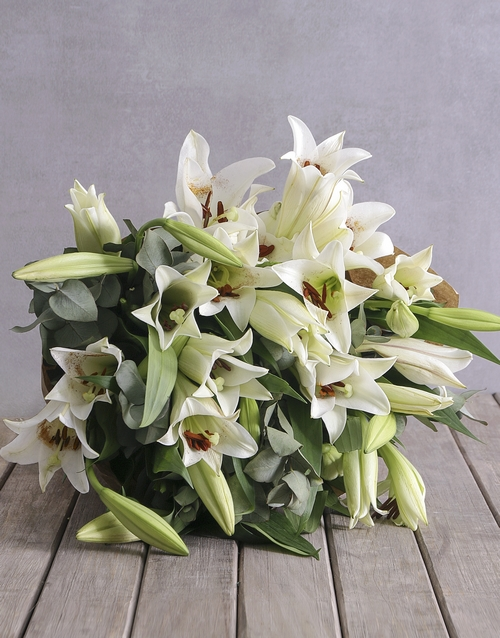 apology: Lovely Lilies!