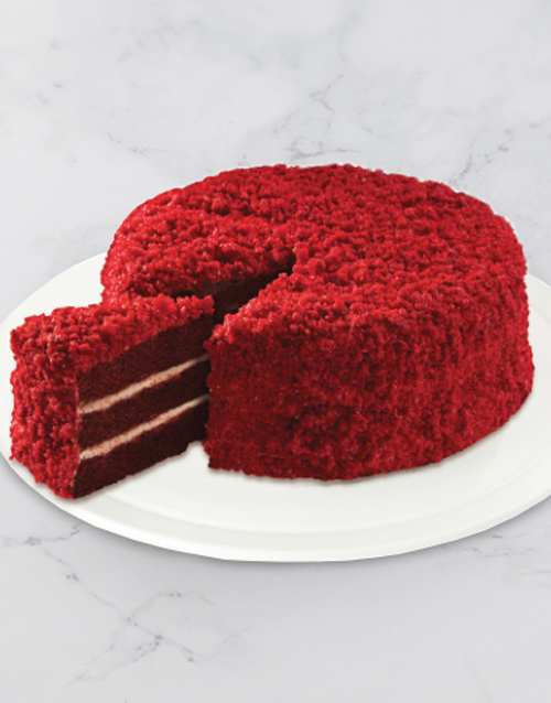 womens-day: Chateau Gateaux Southern Red Velvet Cake!