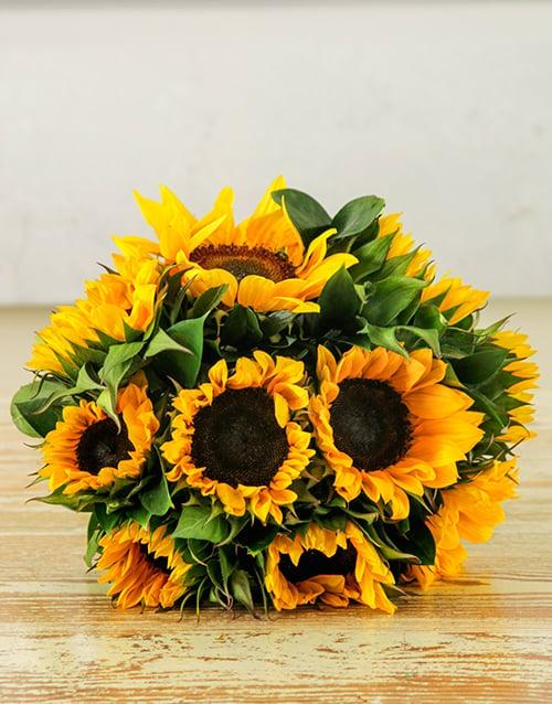bouquets: Sunflower Sunrise Bouquet!
