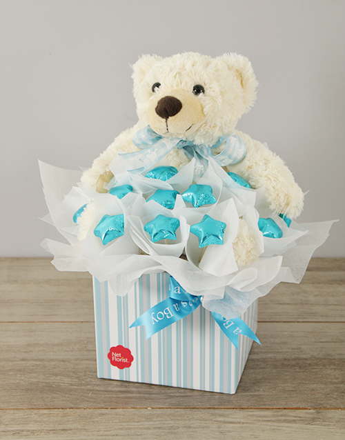 teddy-bears: It's a Boy Edible Arrangement!