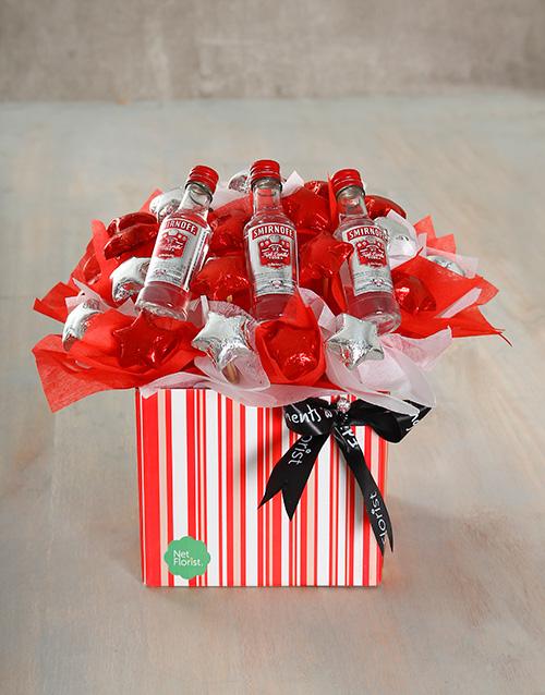 birthday: Red Star Edible Arrangement!