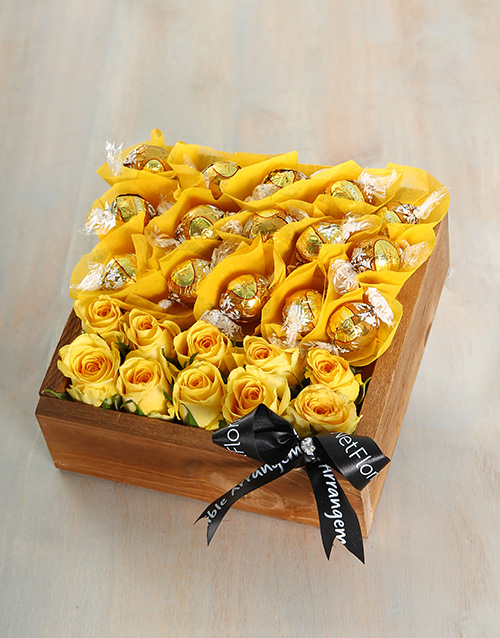 edible-chocolate-arrangements: Sunny Summer Crate!