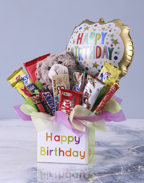 edible-chocolate-arrangements: Happy Birthday Mixed Chocolate Box!