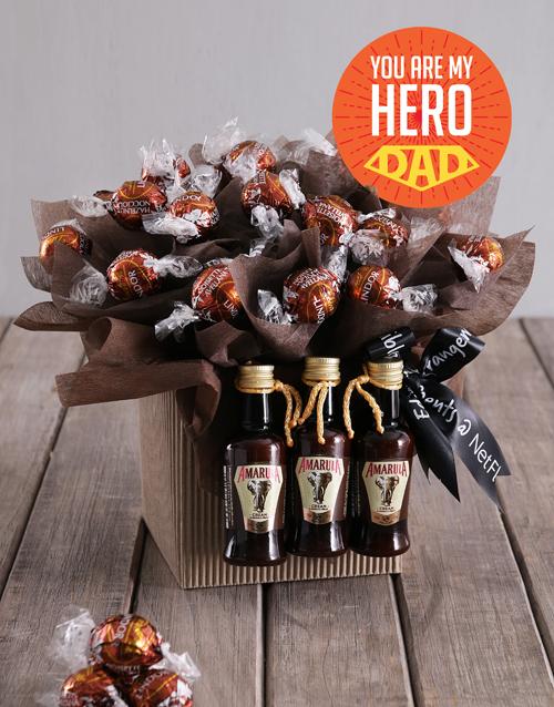 edible-chocolate-arrangements: Hero Dad Lindt Creams!