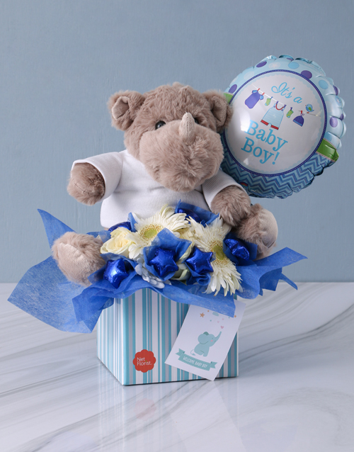 flowers: New Baby Boy Edible Arrangement!