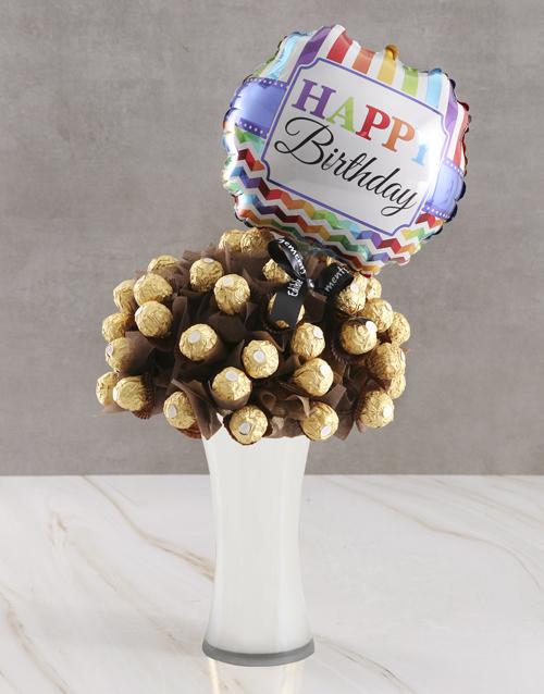 birthday: Happy Birthday Chocolate Bouquet!