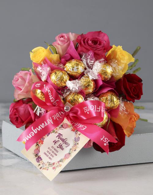 edible-chocolate-arrangements: Thinking of You Autumnal Edible Arrangement!