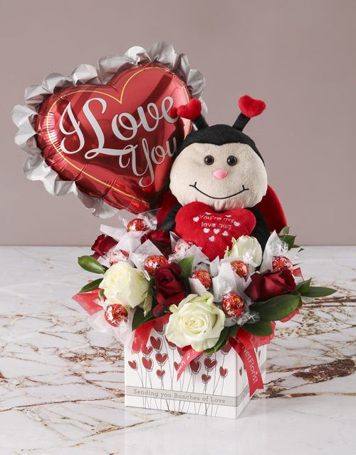 edible-chocolate-arrangements: Love Bug Edible Arrangement!