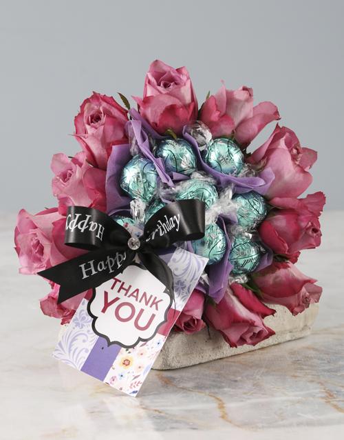 edible-chocolate-arrangements: Thank You Purple Rose Edible Arrangement!