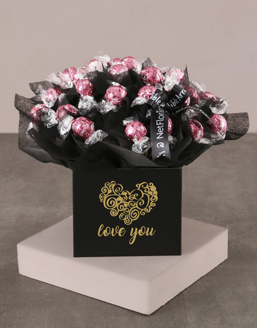 love-and-romance: Love You Strawberry Lindt Bouquet!