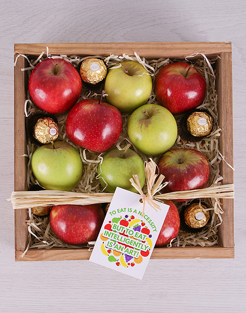 gourmet: Apple a Day and Ferrero Crate!