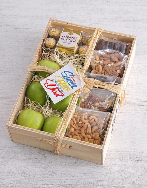 get-well: Superhero Fruit Basket for Dad!