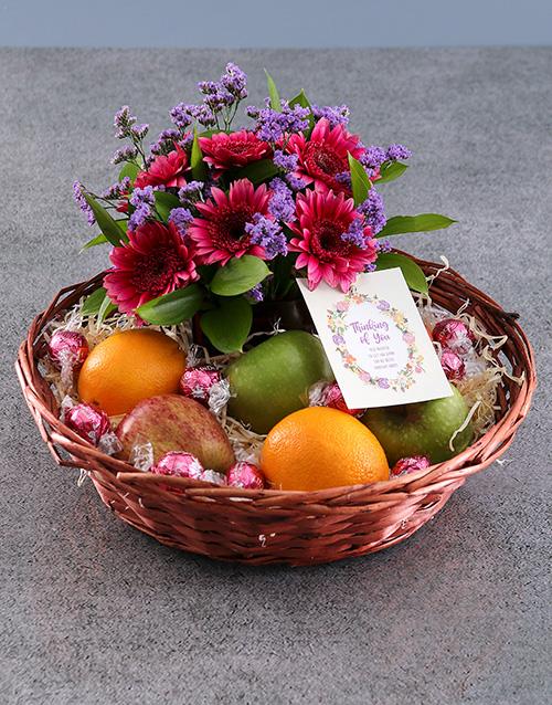 birthday: Thinking of You Fruit Basket!