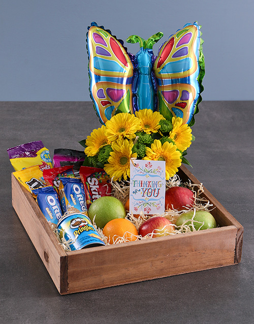 get-well: Thinking of You Butterly Crate!
