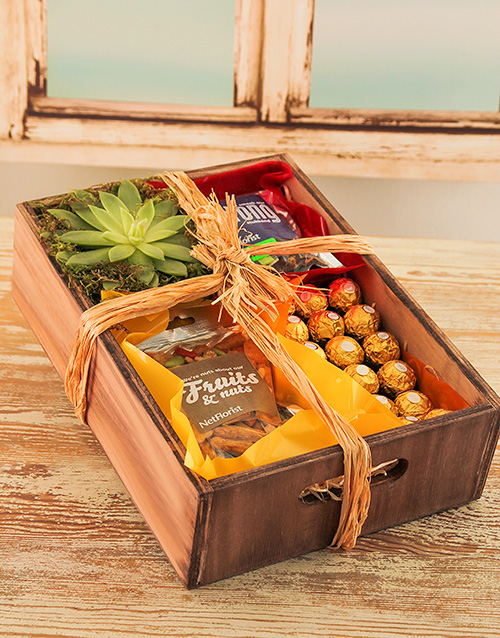 birthday: Nutty Plant Gift Crate!
