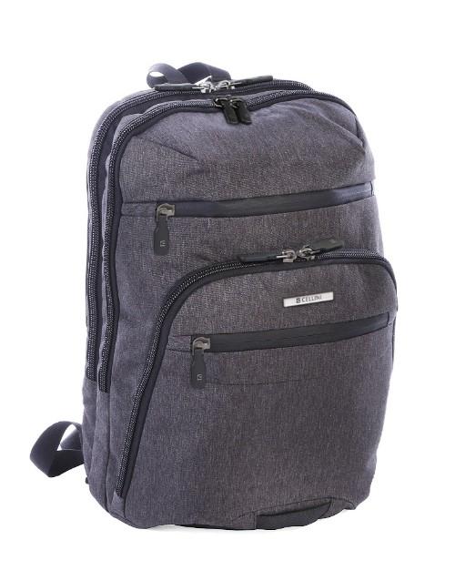 cellini: Cellini Sidekick Plus Formal Backpack Grey Medium!