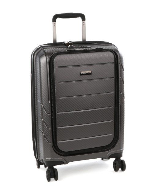cellini: Cellini Microlite Wheel Carry On Case Metal!
