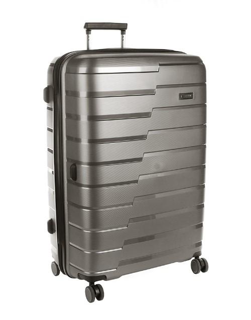 cellini: Cellini Microlite Wheel Trolley Case Charcoal!