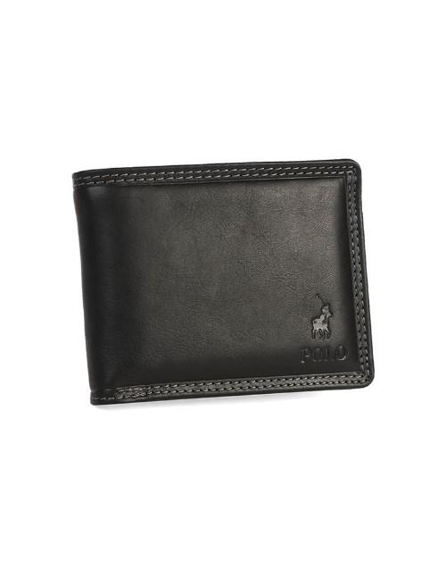 polo: Polo Tuscany Slide Out Card Wallet Black!