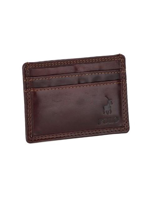 polo: Polo Kenya Money Clip Wallet Brown !