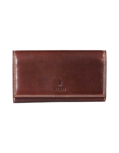 polo: Polo Kenya Zip Pocket Wallet Brown!