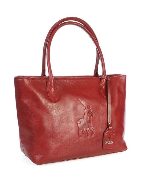 polo: Polo Colorado Tote Handbag Red!