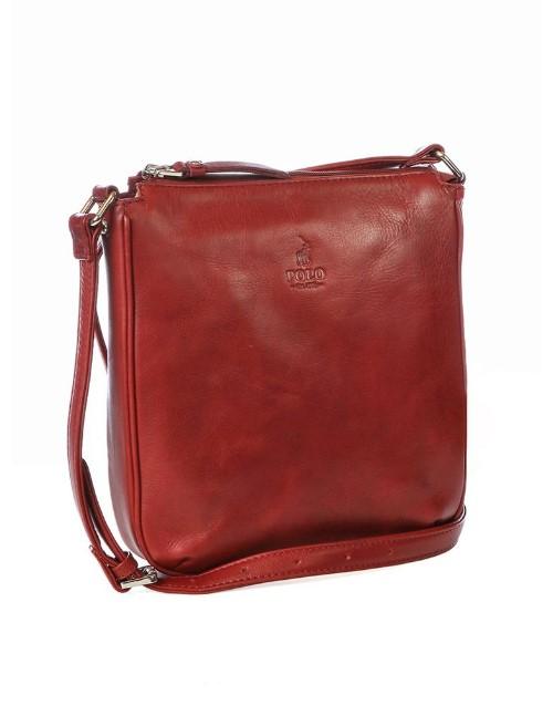 polo: Polo Colorado Crossbody Handbag Red!