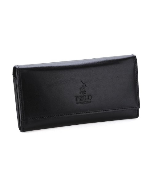 polo: Polo Colorado Card Purse Black!