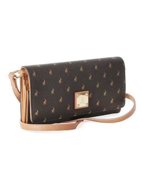 polo: Polo Freedom Iconic Travel Purse Brown!