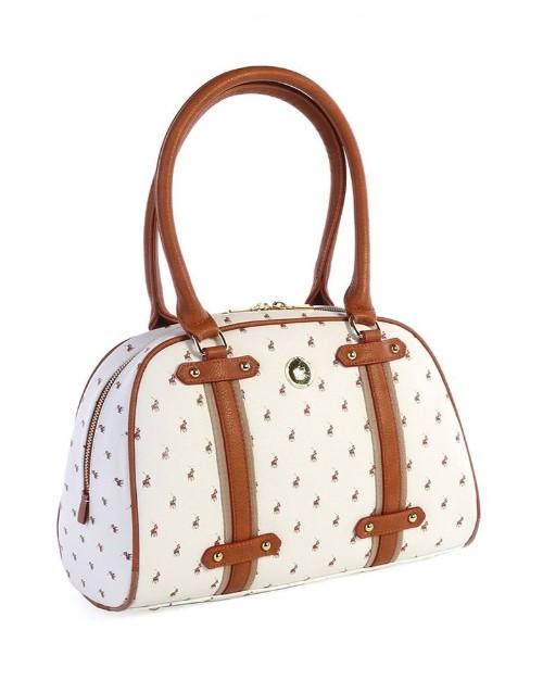 polo: Polo Heritage Shopper Handbag White!