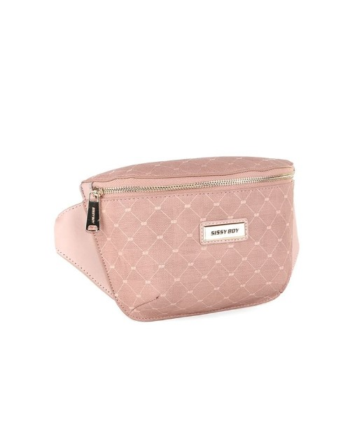 sissyboy: Sissy Boy Printed Denim Crossbody Handbag Pink!