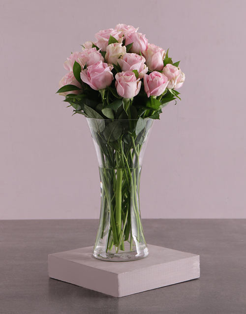 prices: Pretty Pink Rose Arrangement!