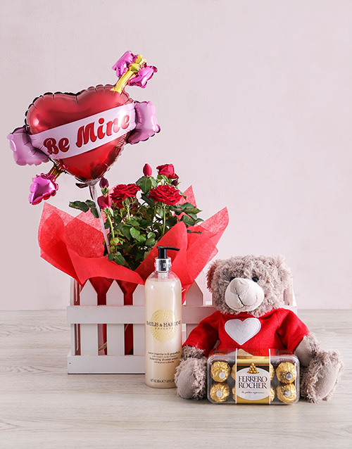 flowering: Be Mine Romance Hamper!