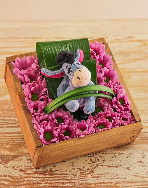 teddy-bears: Eeyore in Pink!!