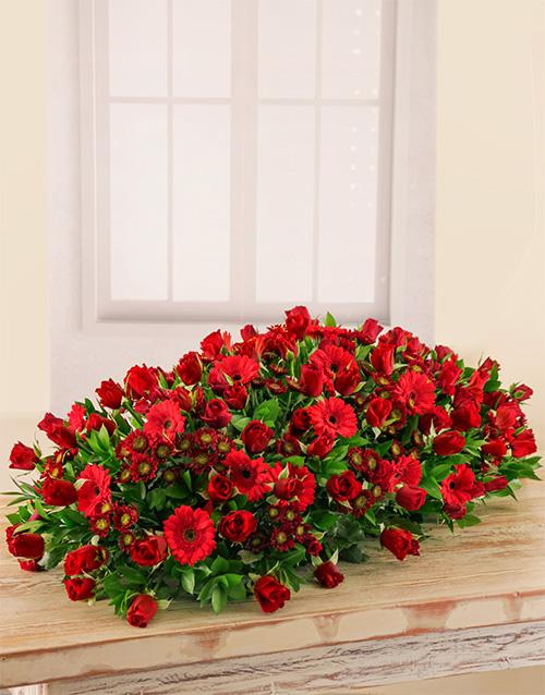 colour: Roses, Sprays and Gerberas Arrangement!