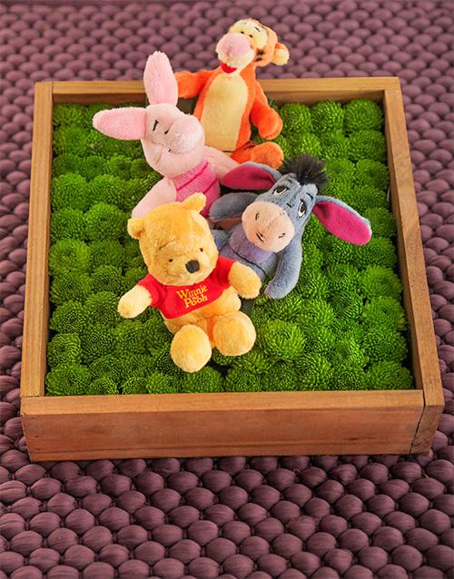 teddy-bears: Winnie the Pooh and Friends Flower Box!
