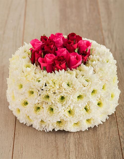 colour: Blossom with Love Flower Cake !