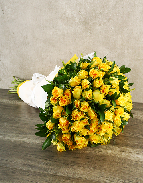 colour: Its Always Sunny Rose Bouquet!
