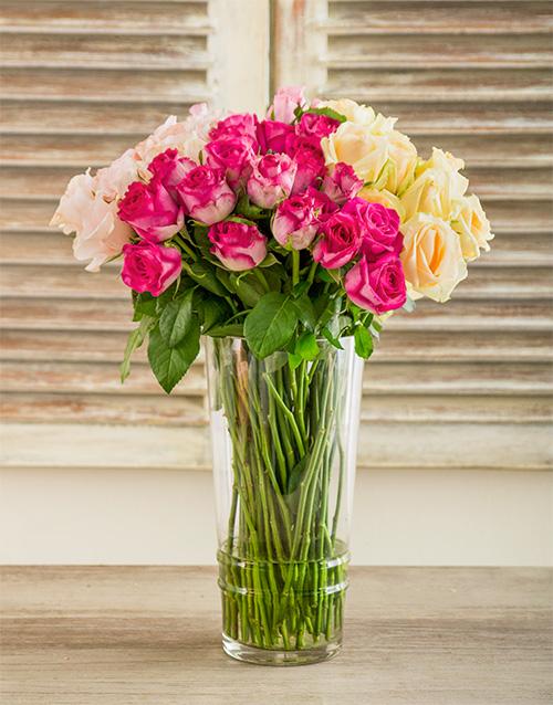 colour: Misha Southern Belle Rose Arrangement!