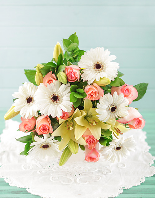 colour: Tranquility Bouquet!