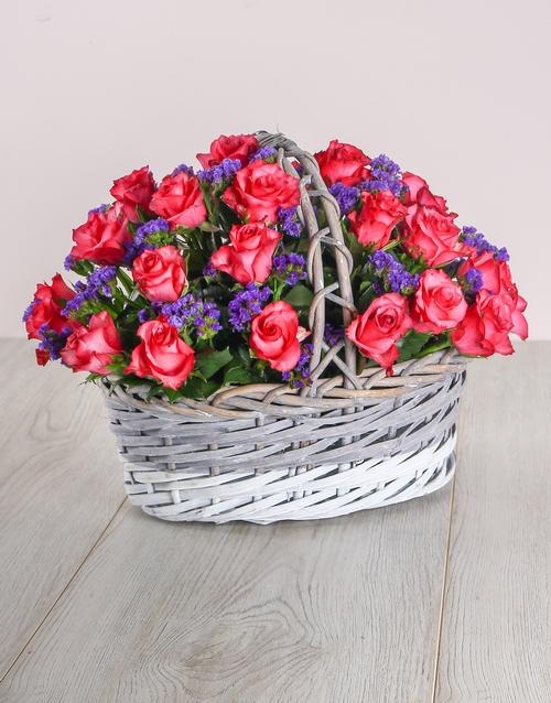 anniversary: Pink Love Basket!