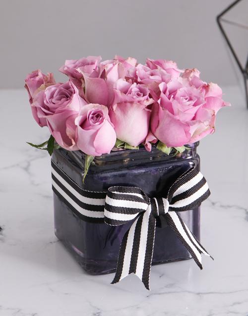 roses: Pastel Purple Arrangement!