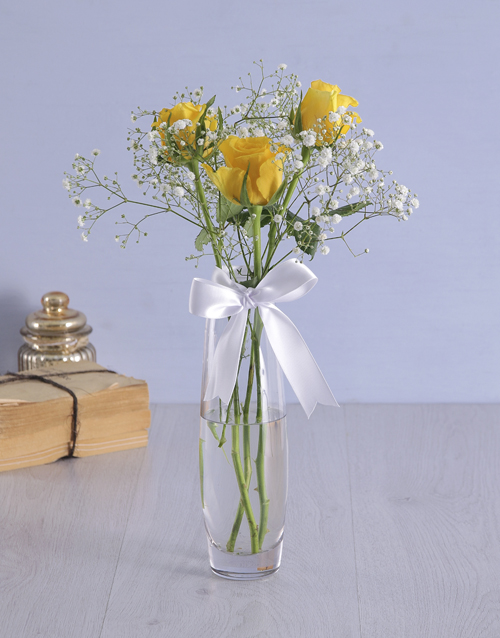apology: Yellow Rose Surprise!
