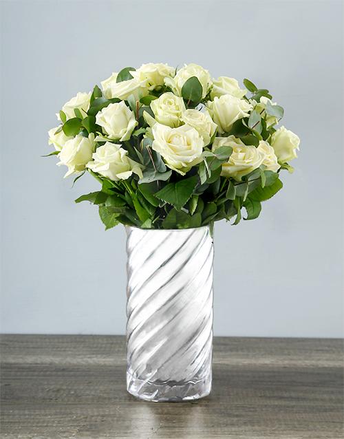 friendship: Wild About White Rose Bouquet!