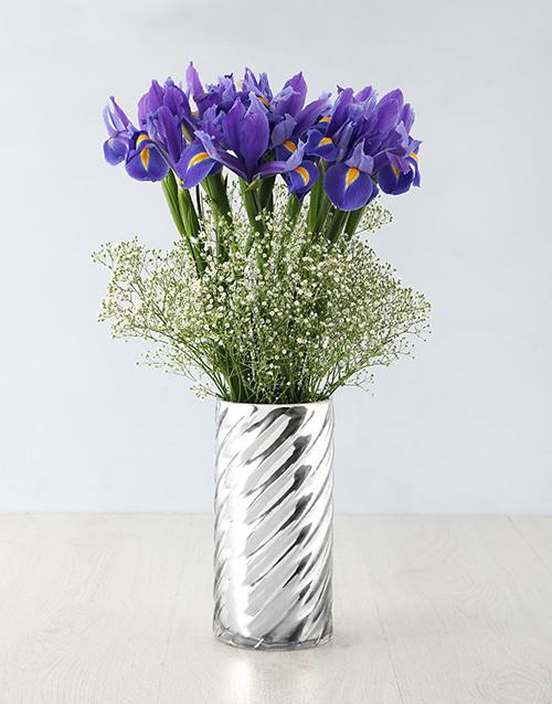 irises: Iris Beauty in a Vase!