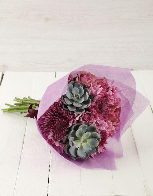colour: Prickly and Pristine Bouquet!