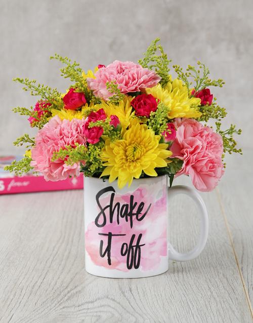 mugs: Shake It Off Mug Arrangement!