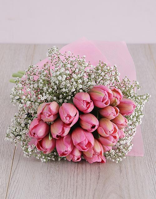 colour: Pretty Pink Tulips!