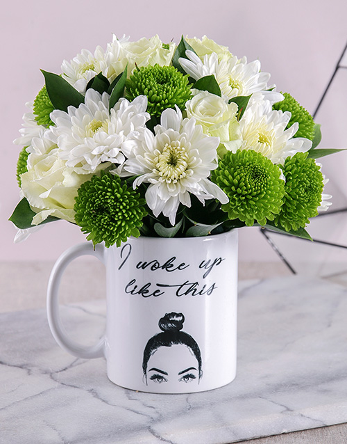 mugs: I Woke Up Like This Mixed Arrangement!